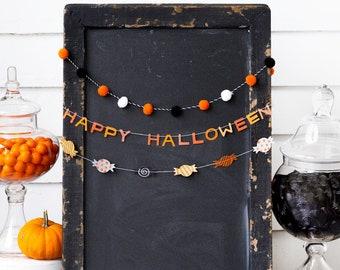 Halloween Garlands - Set of 3