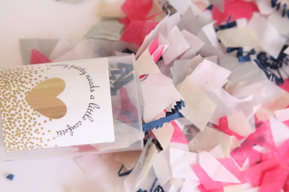 Wedding Poppers, Confetti Poppers, Confetti Push Pops, Wedding Confetti Pop, Custom Party Poppers, Rose Gold Wedding Send Off Ideas, Shooter