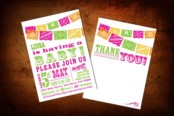 Cinco De Mayo baby shower invitation | Etsy