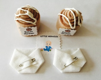 LM 20 Bun In The Oven & 20 White Baby Shower Dirty Diaper Favor Game