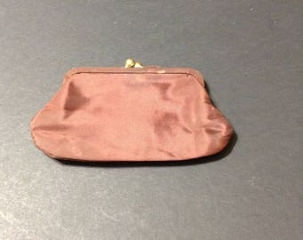 4f81aa10f6 Brown acetate coin purse