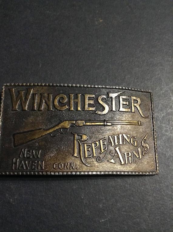 Boucle de ceinture Winchester répéter les bras numérotée   Etsy eaa05b1e041