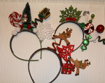 Christmas Headband For Adults.Christmas Headband Winter Trees Hair Party Accessories Etsy