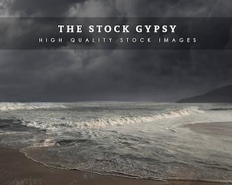 Stormy Sea - Stock Image