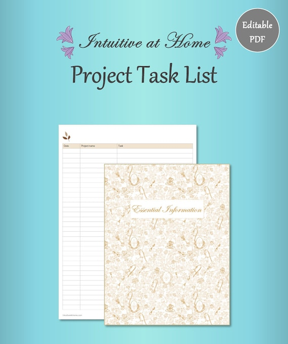 project to do list