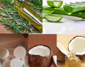 Coconut Milk And Aloe Vera Shampoo
