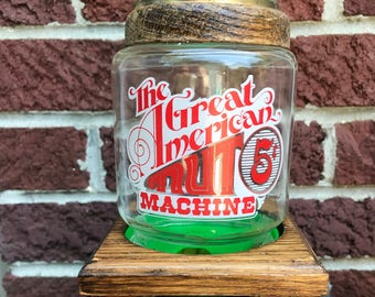 """Vintage """"The Great American Nut Machine 5 Cents"""""""
