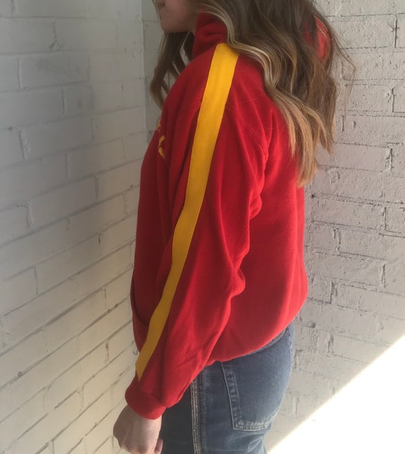 Vintage 1970s GACS Spartans Christian Academy Red… - image 2