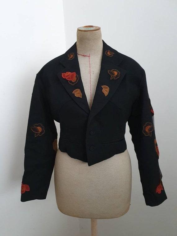 Nicole Matsuda vintage short blazer