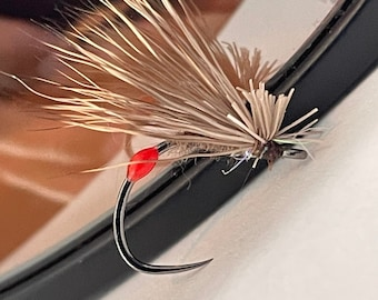 Big Mouth Caddis: Package of 3, Fly fishing, Trout flies, Tenkara, Tenkara flies, fly fishing flies, TYROAM, ty roam, dry flies
