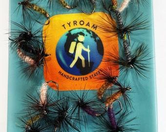 Tenkara Master Kit: Fly Box of 18 flies; Tenkara, fly fishing, TYROAM, ty roam, Trout flies