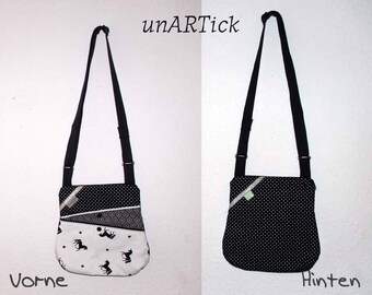 ZickyZackyBag, handbag, shoulder bag, Unicorn