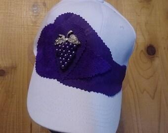 4412ce594b0 Grape ball cap