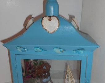 LA-002 Blue Mermaid Lantern