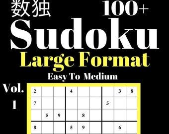 Printable Sudoku Etsy