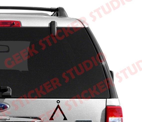 Stargate Earth Symbol Vinyl Car Window Laptop Decal Sticker