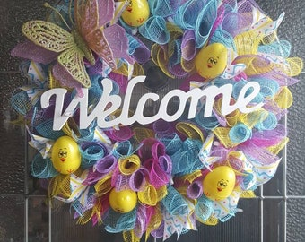 Spring Chick Wreath