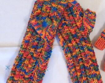 Wrist Warmers Fingerless  Hand Knitted