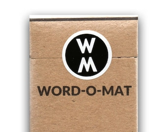 Word-o-Mat Edition #2