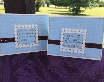 Handmade birthday cards set, Greeting cards sets, Masculine birthday cards sets