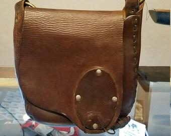 Vinatage leather handbags, Vintage  leather handbag, Vintage Hippie Bag, Bohemian Leather Hand bag,