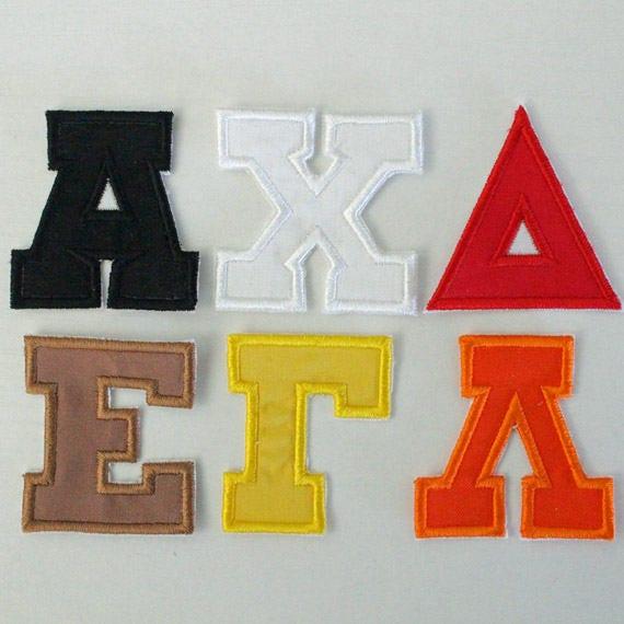 2 Zoll Griechische Alphabet Sorority Buchstaben Etsy