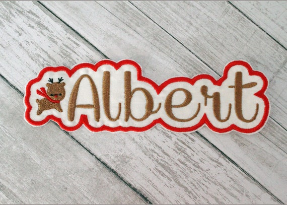 Elephant Custom Iron-on Patch With Name Personalized Free