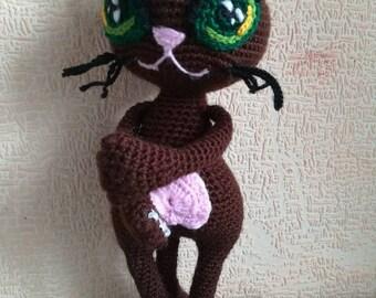 Ravelry: Siamese Cat Amigurumi pattern by Mareeva Olga | 270x340