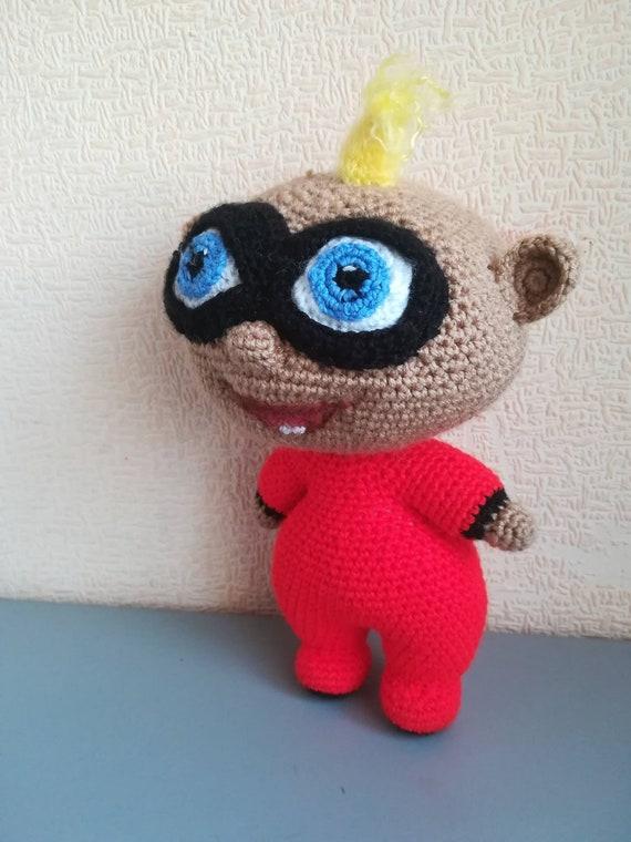 Jack Jack Unglaublichen 2 Häkeln Puppe Häkeln Baby Amigurumi Etsy
