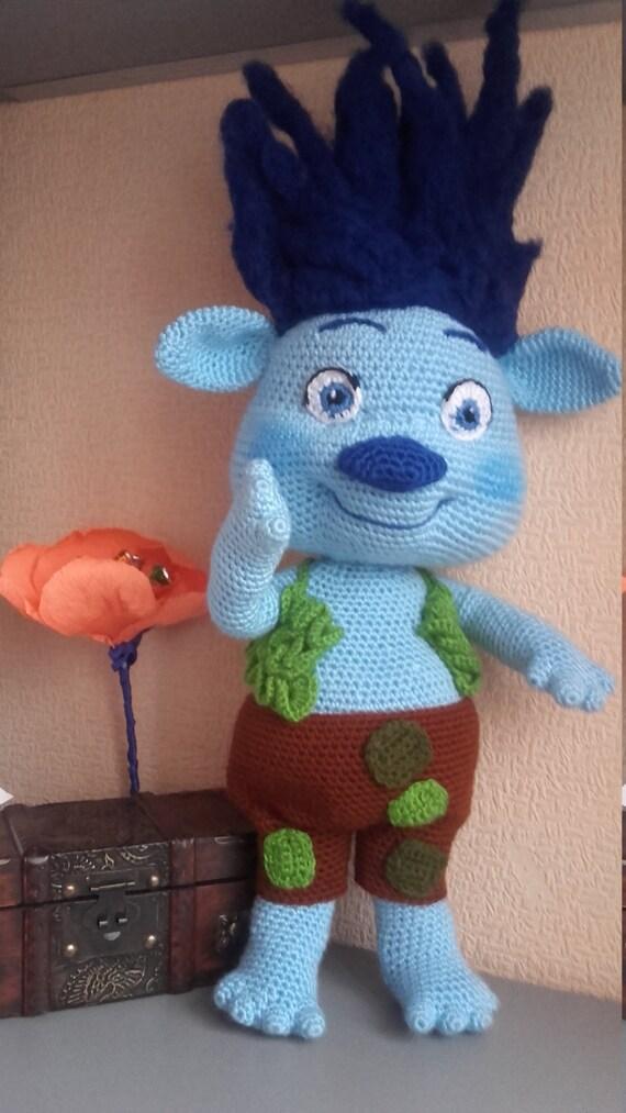 Troll Zweig Mohn Freund häkeln Puppe Amigurumi Puppe Mohn &