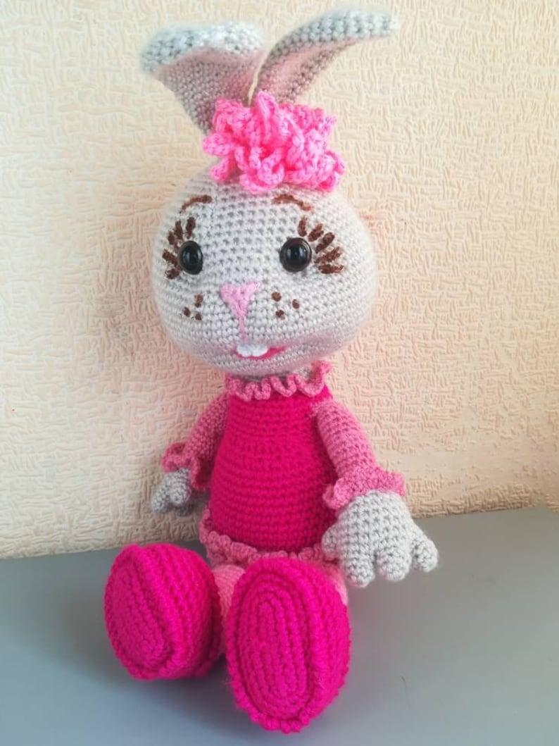 Crochet bunny amigurumi pattern | Crochet bunny pattern, Crochet ... | 1059x794