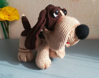 The Basset Hound Crochet dog Puppy toy