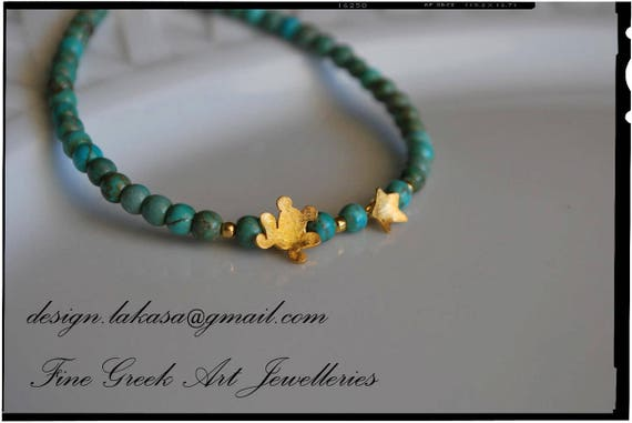 Frog Star Bracelet Sterling Silver Gold plated Fine Jewelry Lakasa eShop ideas gift friends love luck dream girl mama birthday friendship