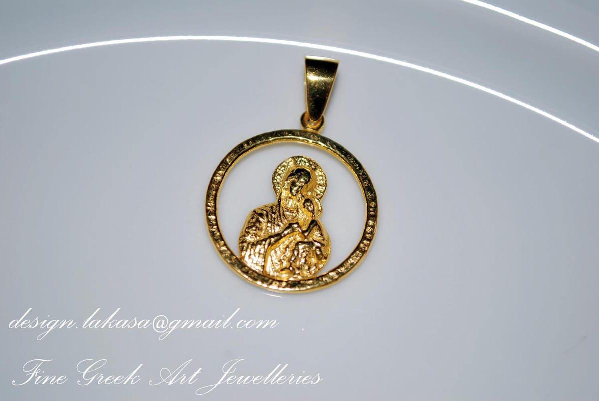 Necklace Cross Red Enamel Silver 925 Gold-plated Handmade Religious Jewelry Best Ideas Gifts Woman Moda Anniversary Birthday Lakasa Eshop