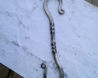 Custom Handmadehigh carbon steel S hook for camping[ & tent