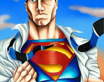 Superman 8x10 Print