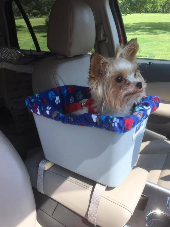 Custom Toby Console Car Seats For Small Dogs Now In Pink Or Blue