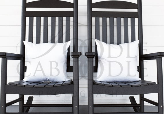 Incredible Styled Stock Photography Two Pillow Mockup Background White Square Pillow Mock Ups Black Rocking Chairs Porch Farmhouse Pillow Mockups Bralicious Painted Fabric Chair Ideas Braliciousco