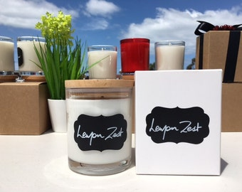 Large Soy Candles