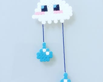 Necklace clouds - pendant weather rainy Geek