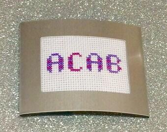 ACAB purple tones