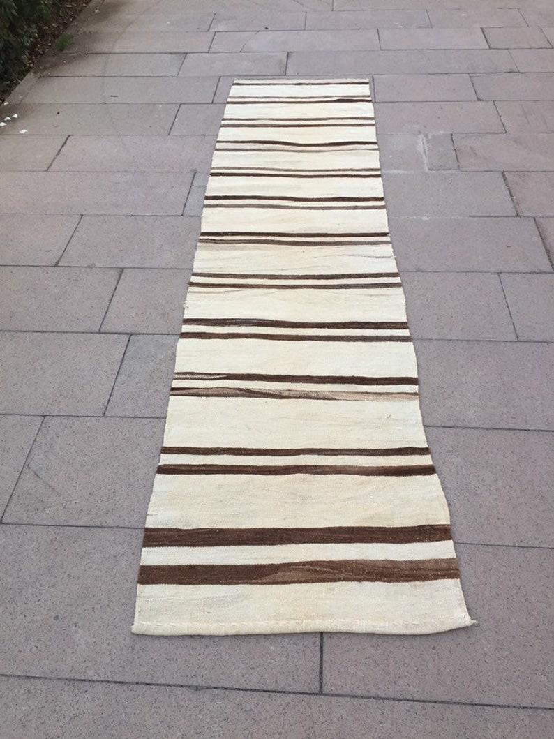 2\u20191\u201dx9\u20191\u201dft Vintage Kilim Runner Rug Turkish Runner Rug Hallway Rug Long Rug Runner Rug Stair Rug Runner Naturel Runner Rug