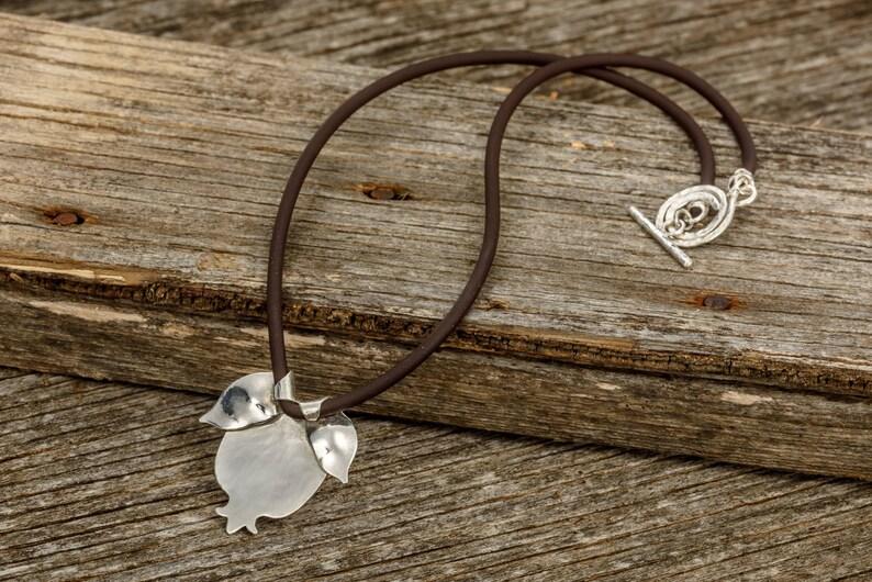 Unique Necklace Jewish Jewelry Fertility necklace Jewish Gift Unique Silver Jewelry Statement Silver Necklace Pomegranate Necklace
