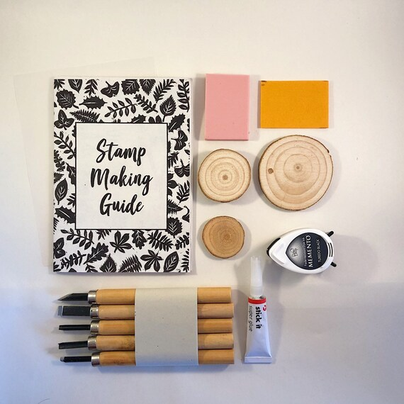 Stamp Making Kit Everything You Need To Carve Your Own