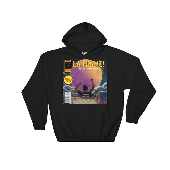 nuovo concetto a2a2c acfa4 The Travis Scott Astroworld La Flame Hoodie by AKARTS