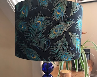 Feather lamp shade | Etsy
