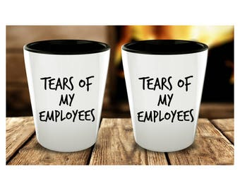 great boss gifts boss gift ideas tears of my employees funny boss gift