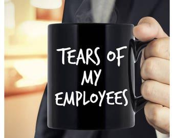boss gift ideas gifts for bosses day boss lady mug tears etsy