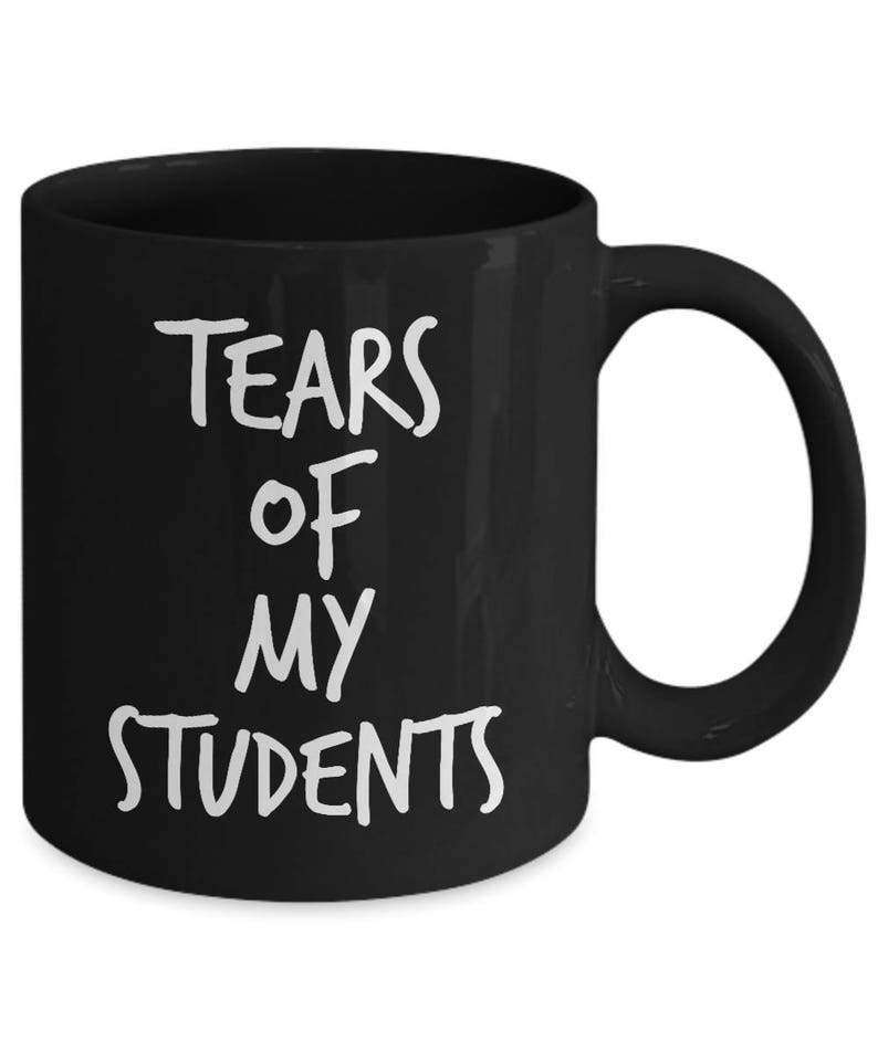 d2a9b8f8d0f Teacher Gift Ideas Teacher Mug Tears of My Students | Etsy