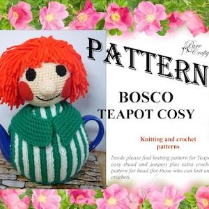 Crochet Pattern Bosco Tea Cosy